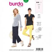 Burda pattern, Wrap shirt, size: 34-44