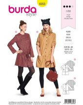 Burda Pattern, Shirtwaist, size: 36-46