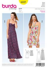 Burda Pattern, summer dress, size: 32-42