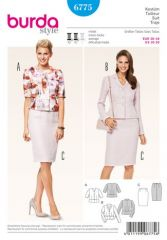 Burda Pattern, suit, size: 36-46