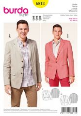 Burda pattern, jacket, size: 44-54