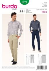 Burda pattern, trousers, size: 44-54