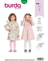 Burda Kids Pattern, Dress, Size: 92-122
