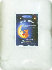 Fillermaterial for handcrafts, 1000gr., white, synthetic wad