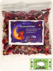 Rose blossoms, organic stuffing, 50g