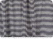 Bio cotton-jersey, rib 1x1, stripes, deep sea-grey, 155cm