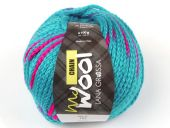 trendy knitting chain-yarn, merino-wool, col.105,10 gr/100 m