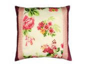 Pillow case, country-style, roses, 50x50cm