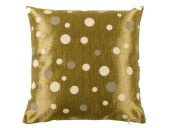 High-quality Pillow case, dots, gold, 40cmx40cm