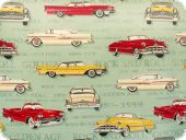 Fancy deco fabric , cars, multicolour. 280cm
