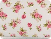 highquality decoration fabric, flowers, multicolour, 140cm