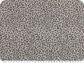 Jacquard deco fabric, fur pattern, grey-black, 140cm