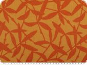 Durable upholstery fabric, leaves, multicolor, 140cm