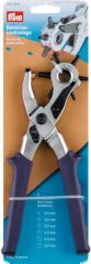 Revolving punch pliers, 6 whole sizes