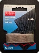 Gold Zack, kick tape, 1,25m, middle grey