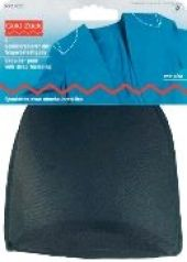 Shoulder pads with strap fastening, one size, black