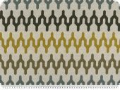 Durable upholstery fabric, grey-multicolour, 140cm