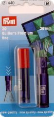 Quilter's premium needles, 26mm, 20 pieces
