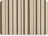 Awnin cloth, teflon coated, stripes, brown, 155cm