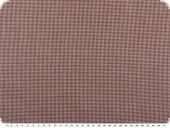 Cotton fabric, mini-houndstooth, dark red, 150cm