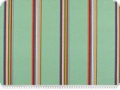 Awnin cloth, teflon coated, stripes, mint, 160cm