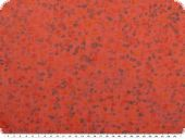 Voile, cotton print, dots, red, 150cm