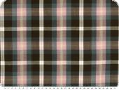 nice shirting, cotton, checked, multicoloured, 145cm