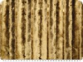 High quality faux fur,  mink imitation, sand, 145cm