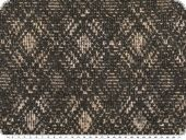 Coat fabric with lurex, top, black-beige, 140cm