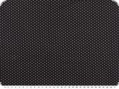 Cotton fabric with small dots, navy-ecru, 148cm