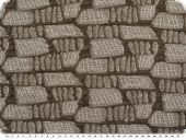 Knitted fabric , Jacquard, brown,150cm