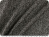 Fine, high quality wool tweed, light stretch, black-white