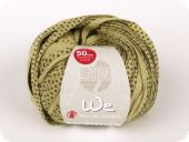 Charity cotton ribbon yarn, sand-mud, 50g/75m