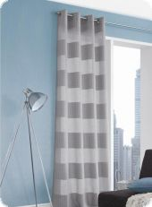 Eyed Curtain, Tamara,  245cmx140cm, grey