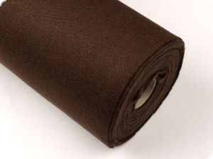 Felt, roll 5m, colour 8, brown, ca.1-1,5mm