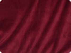 Nicky, wine red, cotton-velvet, ca. 150cm