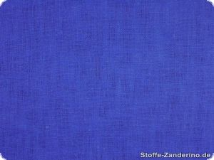 Heavy-weighted linen, blue, ca. 130cm