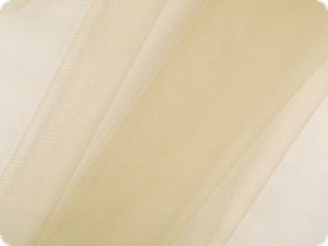 Fine-meshed tulle, nylon, beige, ca. 150cm
