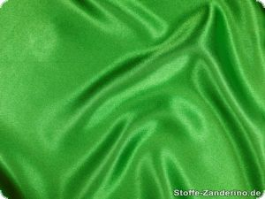 Polyester satin, green, ca. 150cm