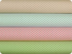 Nice cotton print, tiny dots , pastel turquoise, 142-145cm