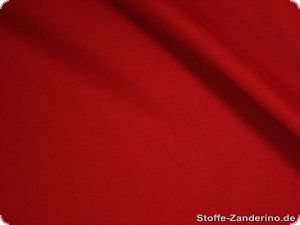 Romanit jersey knit, red, polyester viscose, 150cm