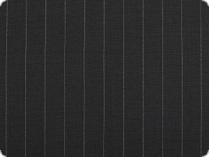 Virgin wool fabric, top quality, pinstriped, navy, 160cm