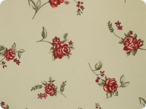 Beautiful Furnishing fabric, flowers, 130 cm, multicolor