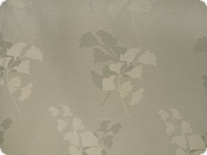 highquality decoration fabric, flowers, grey, 140cm