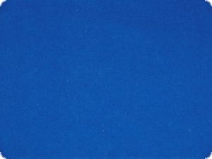 Deco molleton, flame retardant, 300cm, middle blue