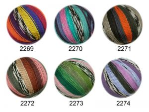Trendy sock- knitting yarn, col. 2273, 150 gr/375m