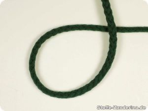 Braided cord, 5mm, green
