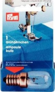 Spare bulb, with screw socket, 220V/15W