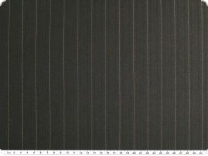 wool blend with pinstripes, stretchy, black, 140cm