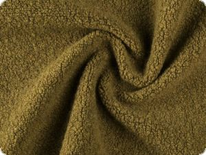 Wool fabric, blend, olive, 160cm